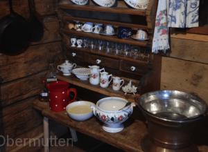 Tellergestell-Küche-Vorhaus