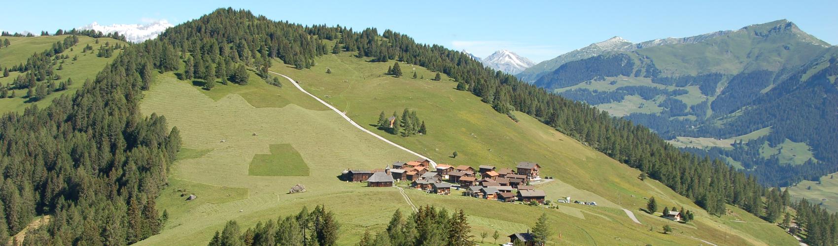Dorfteil von Obermutten