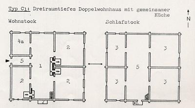 Doppelhaus Grundriss Obermutten