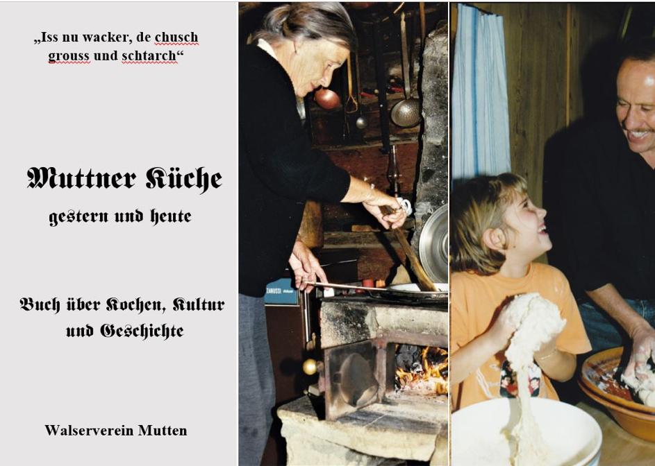 Titelblatt von Muttner Küche gestern und heute